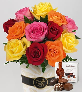 ftdbouquet Free Valentines Rose Bouquet with Chocolates from Ebates