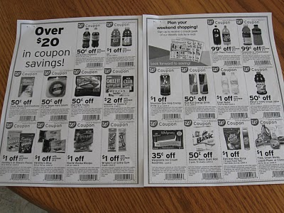 march coupon flyer