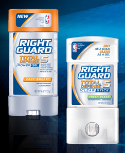 Print Know Save Later: Free Right Guard Total Defense at Kmart