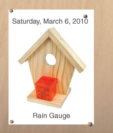 home depot rain gauge