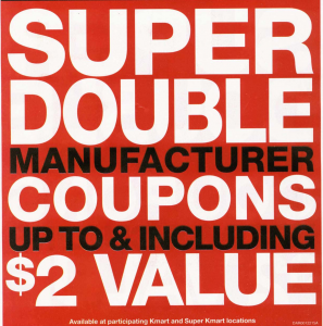Print Now Save Later: Kmart Super Doubles