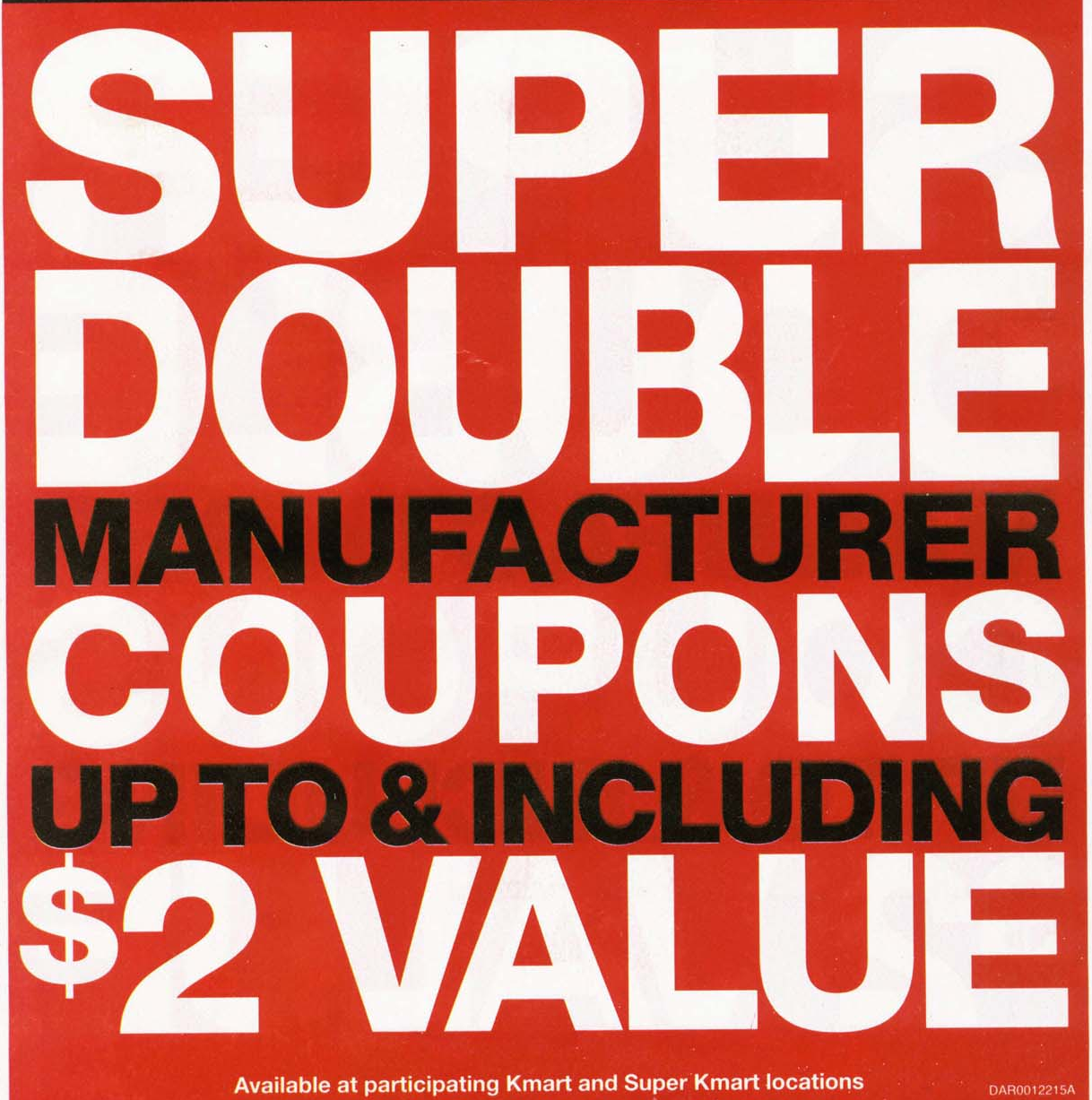 kmart super doubles