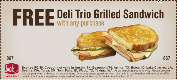 jack in the box trio delight