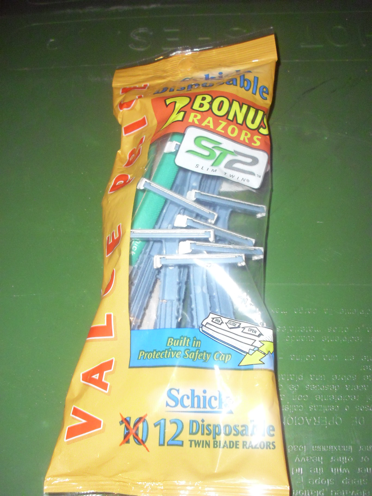 schick disposable razor