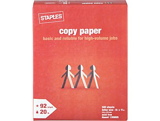 staples reem of paper