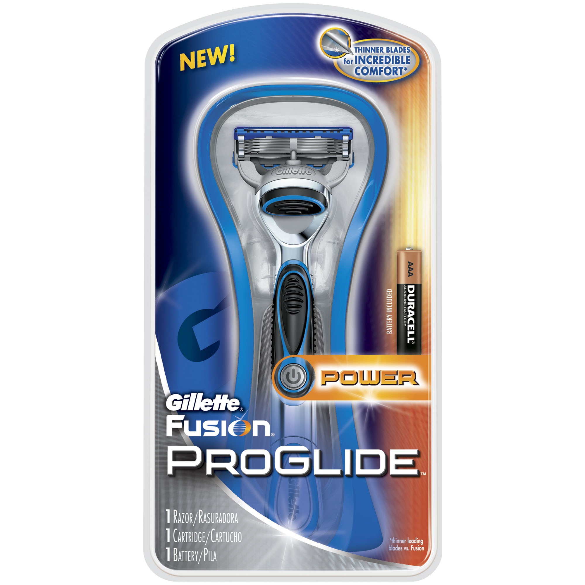 Gillette Fusion ProGlide Power In Package
