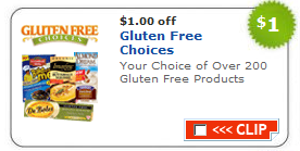 gluten free coupon