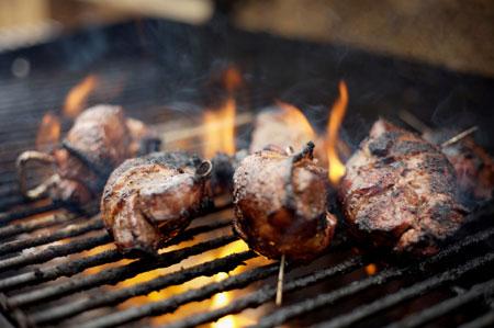 grilling-venison
