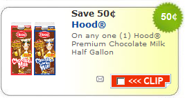 hood milk coupon