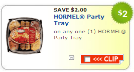 hormel party tray coupons