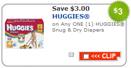huggies snug dry coupon