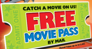 kelloggs free movie ticket