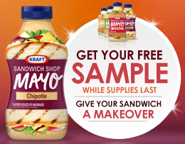 kraft mayo sample