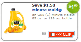 minute maid coupon Minute Maid Orange Juice Coupon
