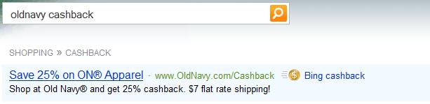 oldnavy cashback