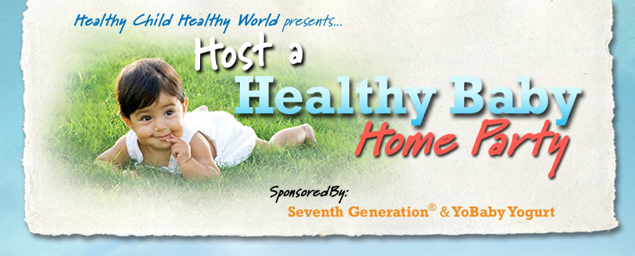 healthy baby home