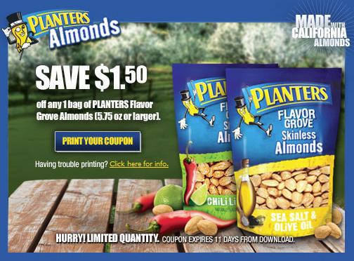 planters almond