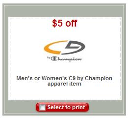 c9 target coupon