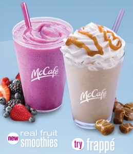 Need to know menu prices for McDonald's? We have the full menu, item prices, meal prices, and more. Need to know menu prices for McDonald's? We have the full menu, item prices, meal prices, and more Strawberry Banana Smoothie without Yogurt (Small) Strawberry Banana Smoothie (Medium) Mango Pineapple Smoothie (Large).