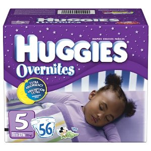 huggies overnite