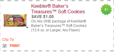keebler treasure cookies