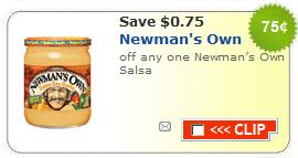 newmans own salsa