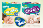 pampers dry max
