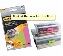 post-it removable labels
