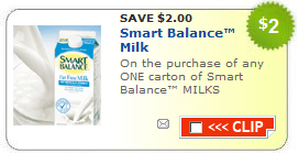 smart balance milk coupon