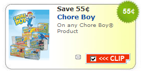 chore boy coupon
