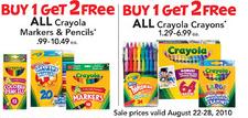 crayola sale tru