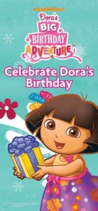 doras birthday 140x300 Its Dora The Explorer Birthday: Freebies and Deals Available