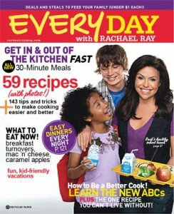 everyday with rachael ray september magazine cover 244x300 Free: Rachel Ray Brush Set with Any Aussie Purchase