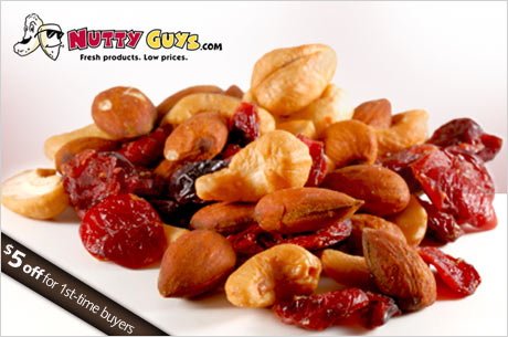 nutty guys eversave Eversave:  Nutty Guys $18 Voucher for only $1 (New Members Only)