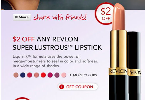 photograph about Makeup Coupons Printable identified as Printable Discount coupons: Revlon, Beech-Nut, and Cake Friend Preferred
