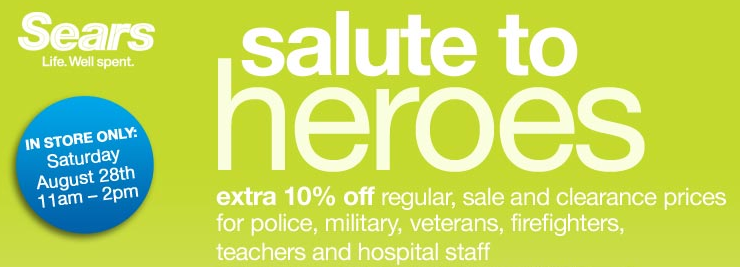 sears salute to heroes