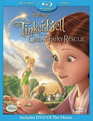 Tinker Bell and the Great Fairy Rescue Movie Coupon1 Toys R Us: Beauty and The Beast + Tinker Bell DVD/Blu Ray Movie Deal