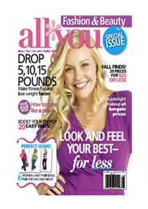 All You:  Free Fashion & Beauty Special Issue With Your Donation