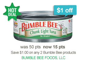 bumble bee coupon