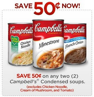 campebslls soups coupon