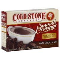 cold stone hot cocoa