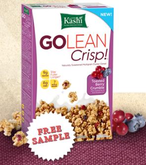 kashi go lean crisps Free Sample of Kashi Go Lean