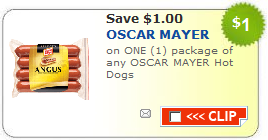 oscar mayer hot dog coupon