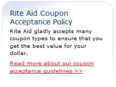 rite aid coupon policy
