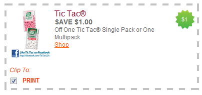 tic tacs coupon