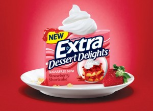 extra delights gum 300x218 Free Pack of Extra Dessert Delights Gum
