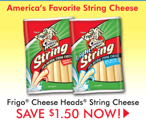 frigo cheese coupon $1.50/1 Frigo Cheese Snacks Coupon