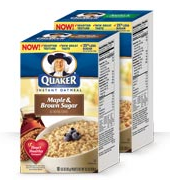 quaker instant oatmeal Jewel Deals 1/20/11   1/26/11