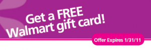 all you free walmart gift card rebate 300x100 New Rebates: Free Walmart $5 Gift Card and an Olay Rebate