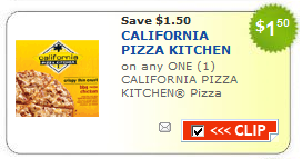 HOT! $1.50/1 California Pizza Kitchen Coupon - Common Sense With Money